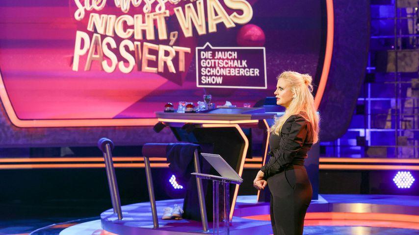 """Barbara Schöneberger bei """"Denn sie wissen nicht, was passiert"""""""