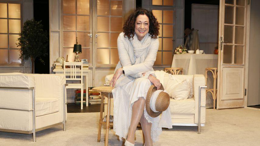 Barbara Wussow bei einer Theaterprobe