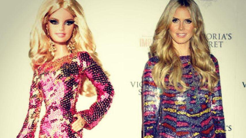 Heidi Klum als Puppe: Hier präsentiert sie ihr Barbie-Ich!