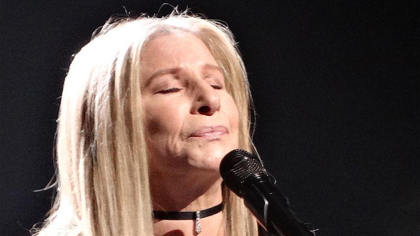 Barbra Streisand performt im Barclays in Brooklyn