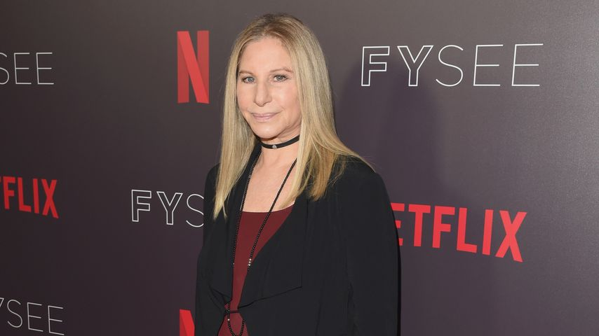 Sängerin Barbra Streisand, 2018