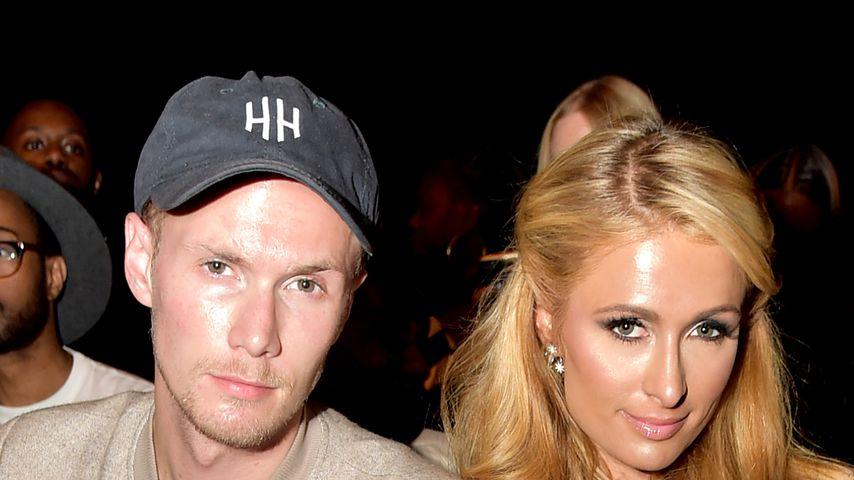 Barron und Paris Hilton