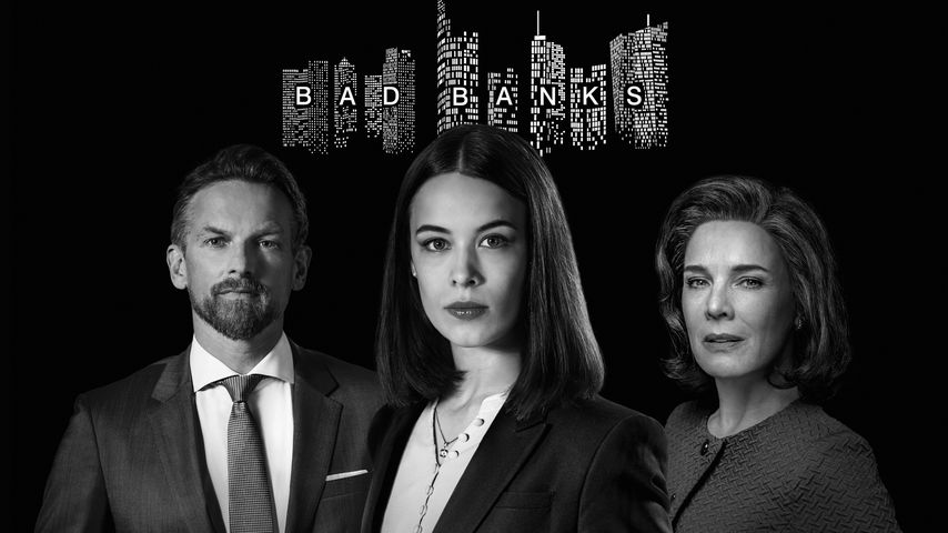 "Barry Atsma, Paula beer und Désirée Nosbusch, ""Bad Banks""-Darsteller"
