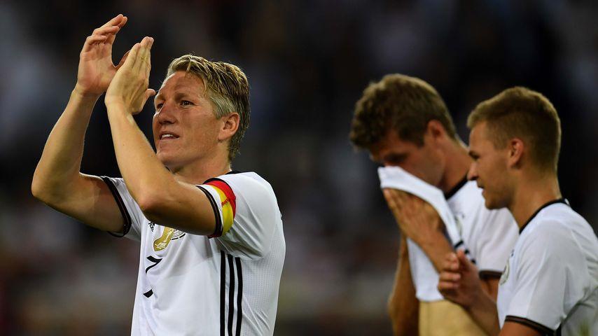 Bastian Schweinsteiger bei seinem DFB-Abschiedsspiel 2016