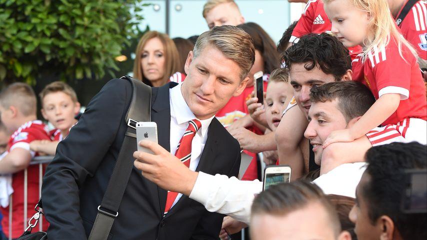Gänsehaut-Start: Bastian Schweinsteiger happy in Manchester