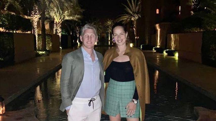 In Marokko: Basti Schweinsteiger und Ana haben Date-Nights