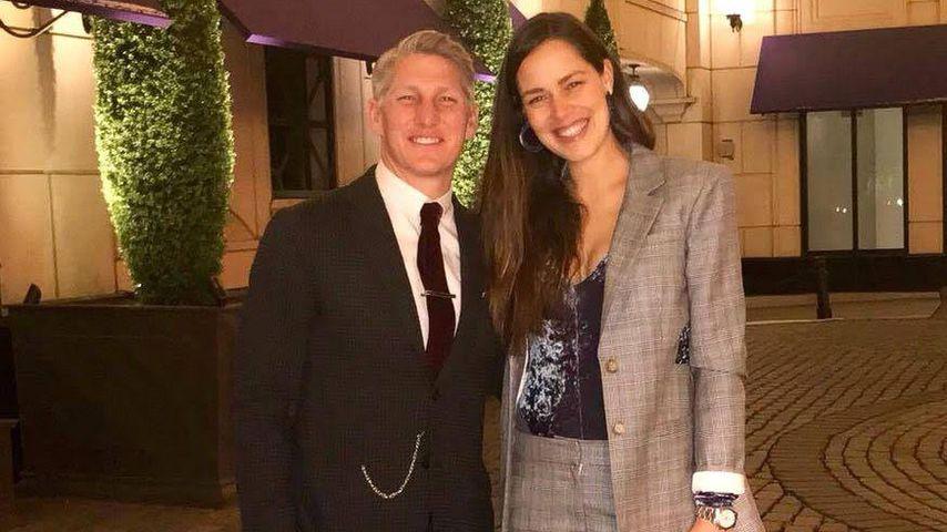 Bastian Schweinsteiger und Ana Ivanovic bei einer romantischen Date-Night, April 2018