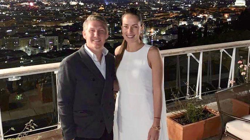Bastian Schweinsteiger und Ana Ivanovic an Silvester