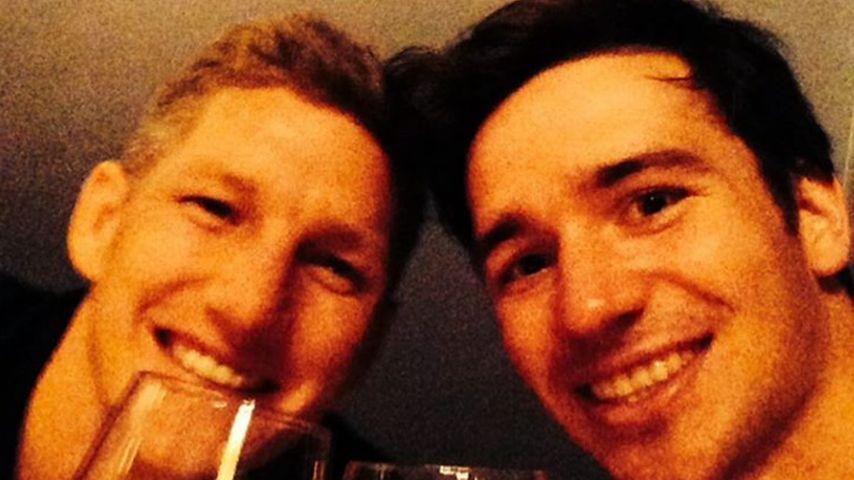 Bastian Schweinsteiger und Felix Neureuther