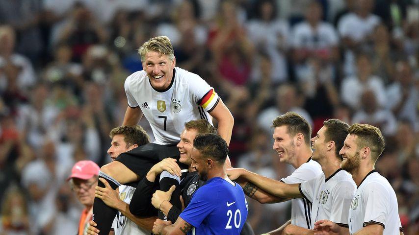 Bastian Schweinsteiger bei seinem Abschiedsspiel