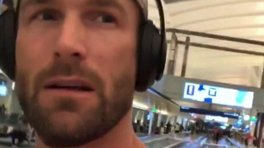 Bastian Yotta am Flughafen in Los Angeles