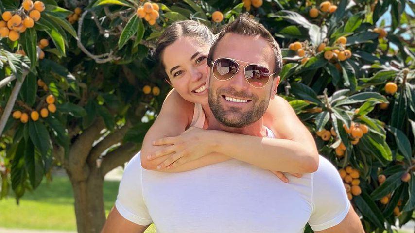 Bastian Yotta mit seiner Freundin Marisol