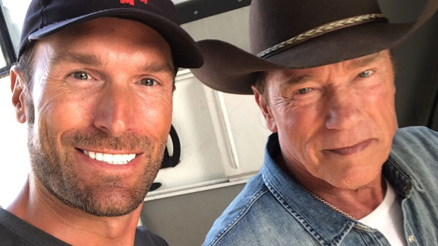 Muskel-Gipfel! Basti Yotta trifft Idol Arnold Schwarzenegger