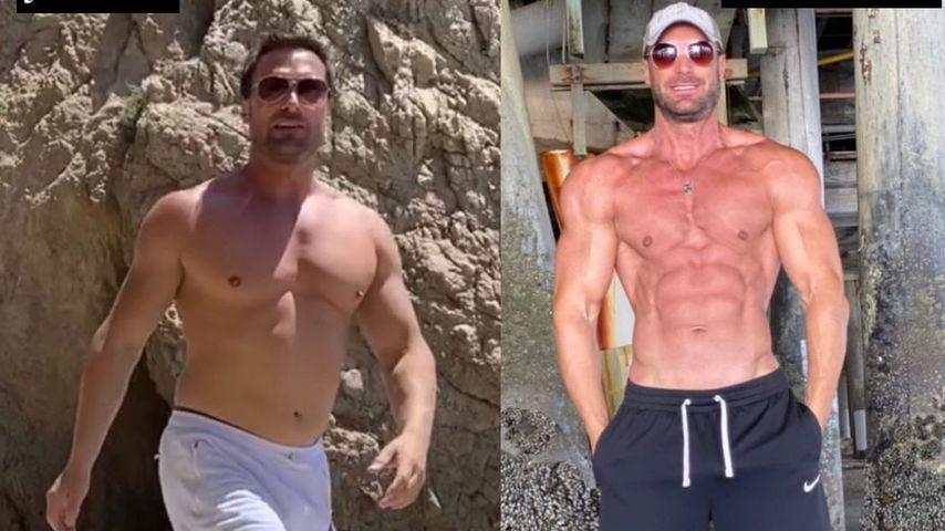 Bastian Yotta zeigt seine neuen Muskeln