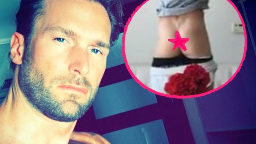 """Bastian Yotta zieht blank: Übt er etwa für """"Adam sucht Eva""""?"""
