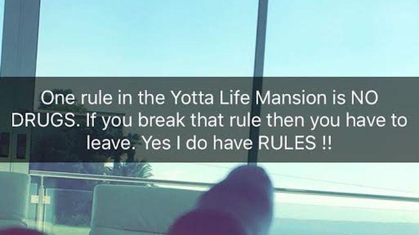 Bastian Yottas Post auf Snapchat