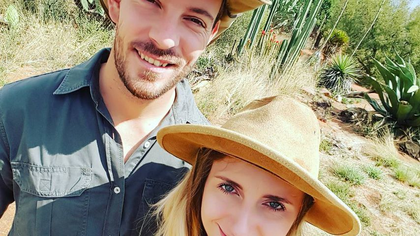 Bauer Gerald und seine Anna in Namibia