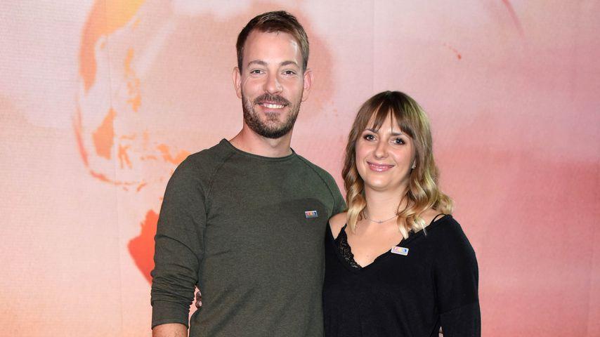 Bauer Gerald und seine Frau Anna beim RTL Spendenmarathon