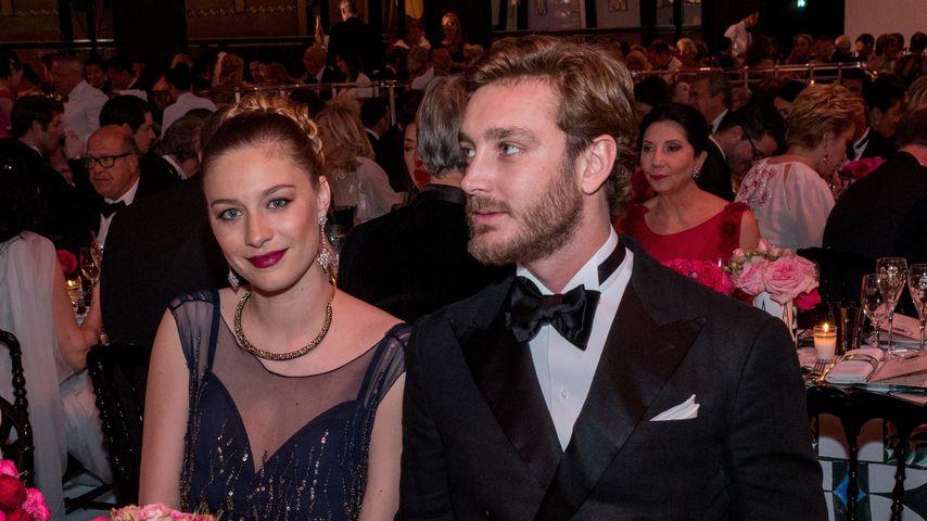 Beatrice und Pierre Casiraghi auf dem Rosenball 2017 in Monte Carlo