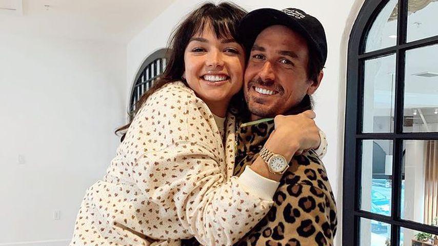 Bekah Martinez mit ihrem Freund Grayston Leonard im Dezember 2020