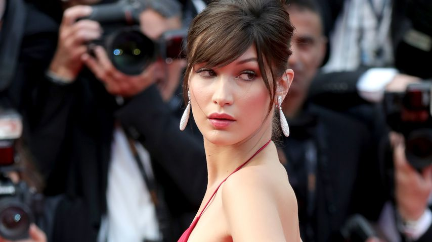 Bella Hadid im Mai 2016 in Cannes
