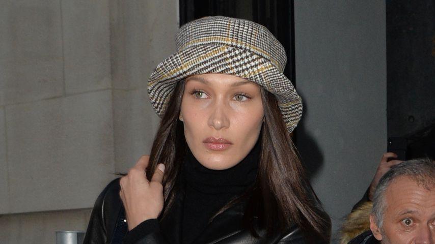 Bella Hadid bei der Pariser Fashionshow im Januar 2020