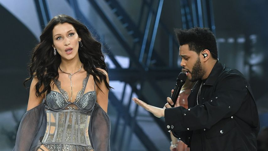 Bella Hadid und The Weeknd bei der Victoria's Secret Fashion Show 2016 in Paris