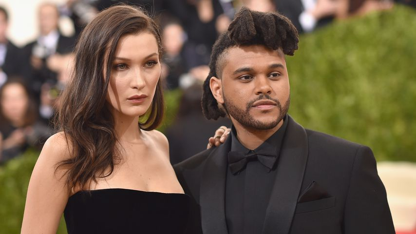 Bella Hadid und The Weeknd bei der Met Gala 2016