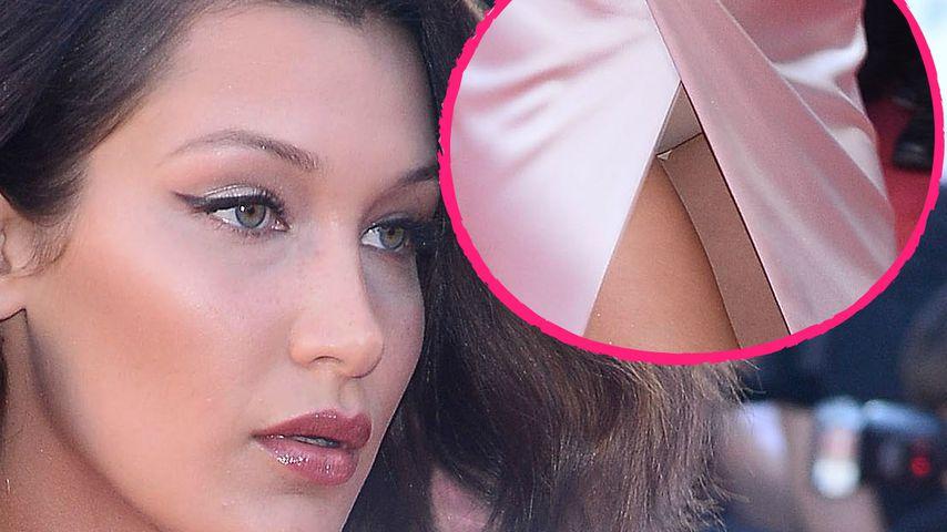 Peinlicher Cannes-Fauxpas: Bella Hadid lässt Slip blitzen!