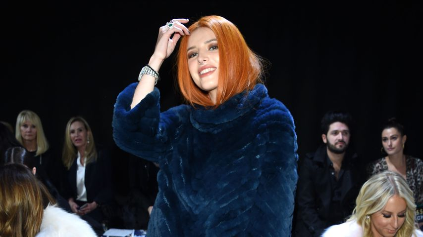 Bella Thorne bei der New York Fashion Week im Februar 2019