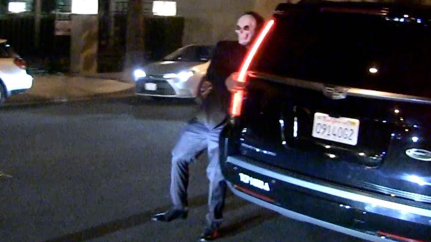 Ben Affleck auf dem Weg zu einer Halloween-Party, Oktober 2019