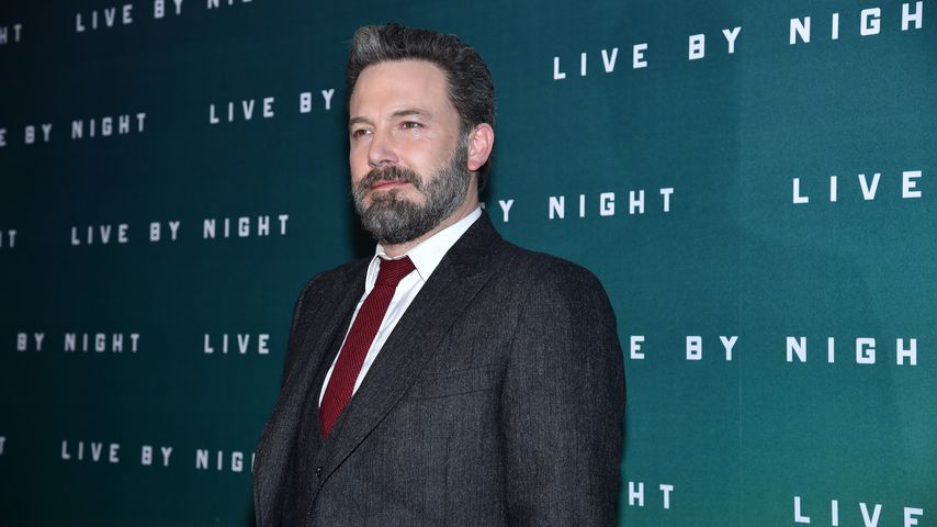 "Ben Affleck bei der ""Live by Night""-Premiere 2017"