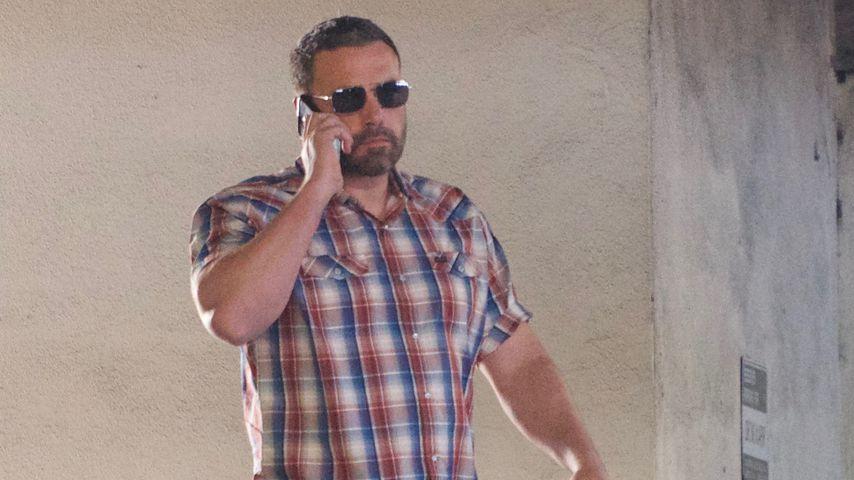 Ben Affleck nach einer Therapiesitzung in Los Angeles