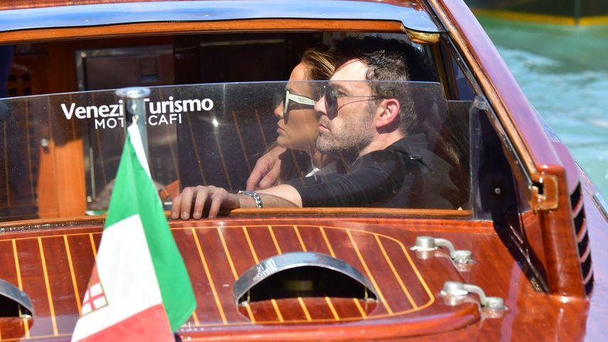 Ben Affleck und Jennifer Lopez in Venedig im September 2021