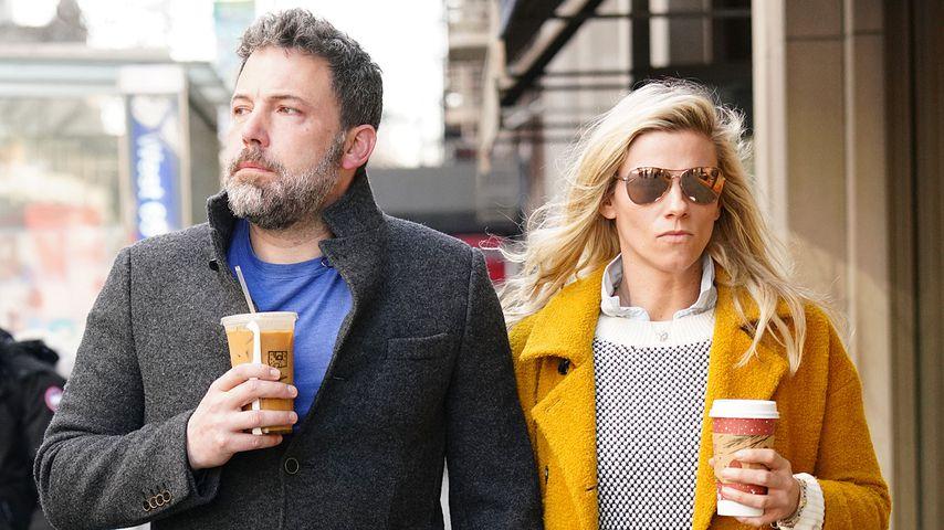 Ben Affleck und Lindsay Shookus in New York