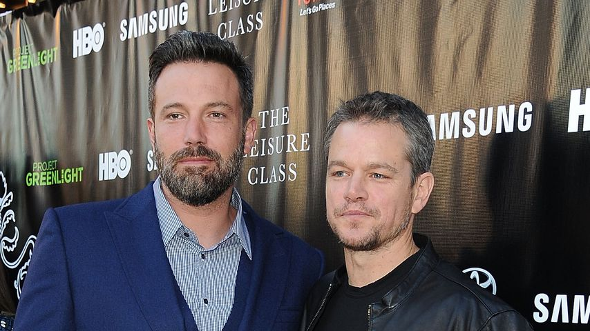 Ben Affleck und Matt Damon bin Los Angeles