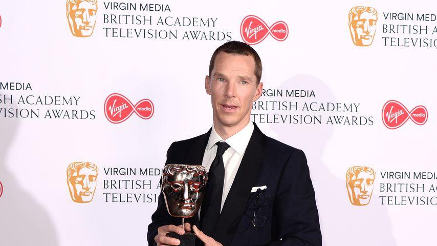 """Benedict Cumberbatch, """"Good Omens""""-Darsteller"""