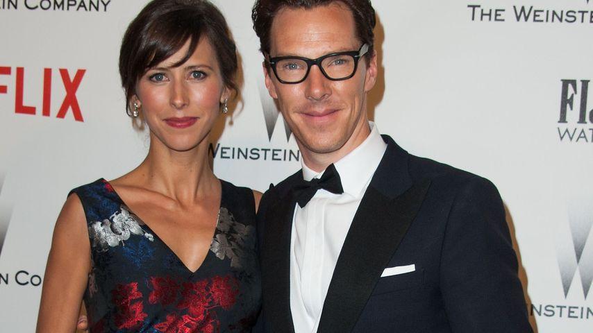 Benedict Cumberbatch und Sophie Hunter