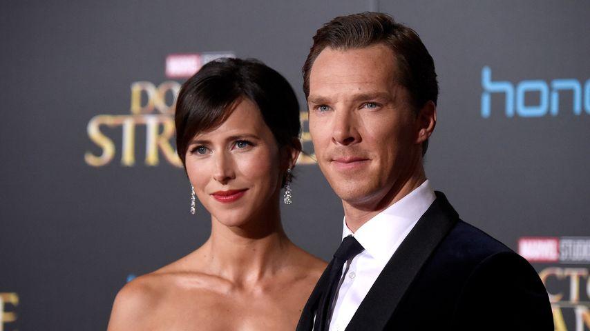 Benedict Cumberbatch: Seine Braut Sophie trägt Silber!