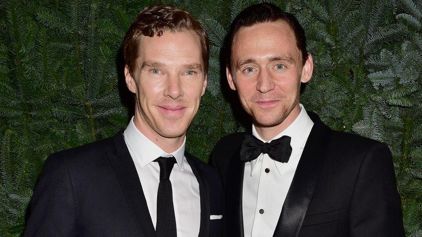 Benedict Cumberbatch (l.) und Tom Hiddleston