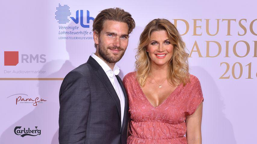 Benjamin Baarz und Nina Bott beim Deutschen Radiopreis 2018