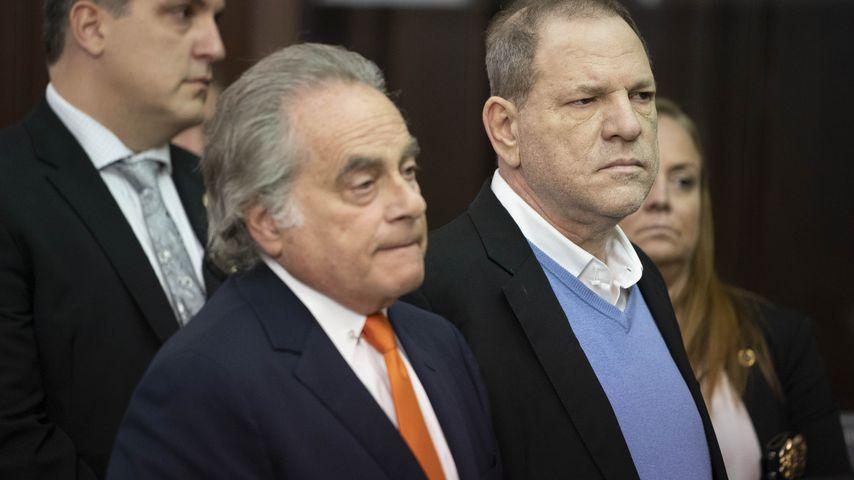 Benjamin Brafman und Harvey Weinstein vor dem Gericht in New York