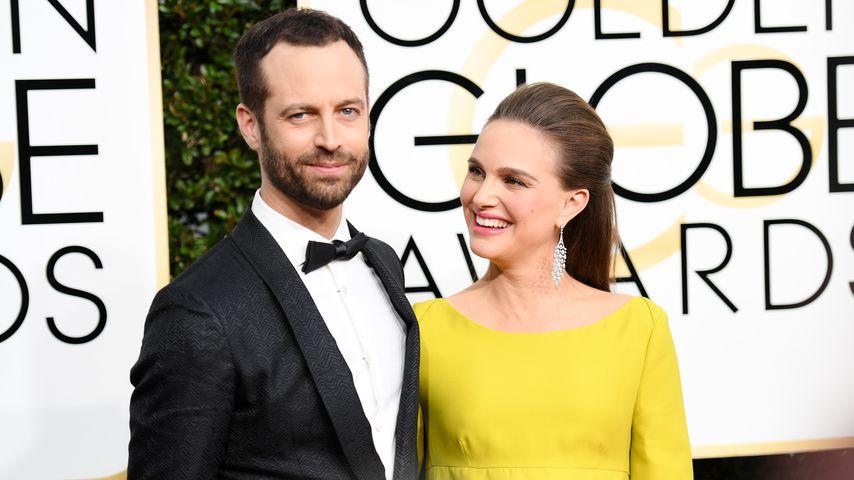Benjamin Millepied und Natalie Portman bei den Golden Globes in Berverly Hills 2017
