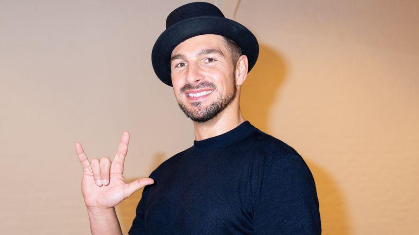 "Benjamin Piwko beim ""Let's Dance""-Training"