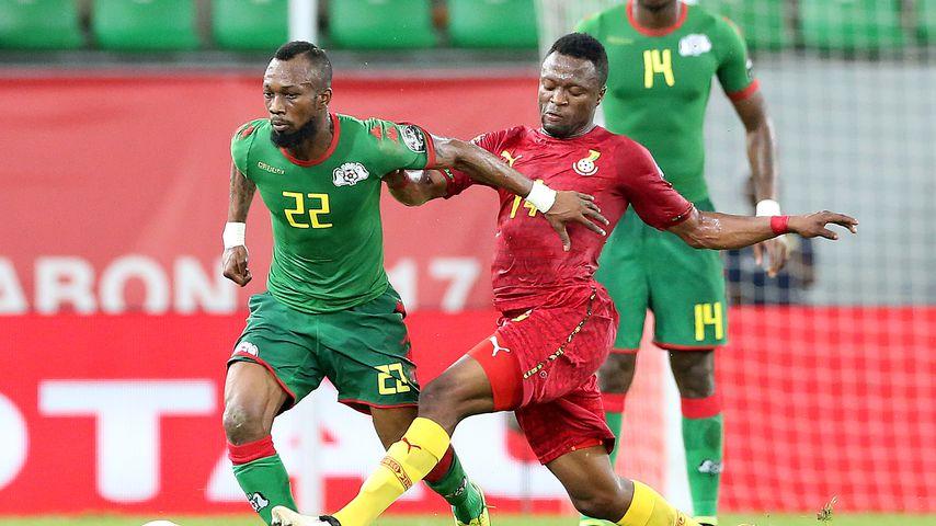 Bernard Tekpetey, ghanaischer Fußballspieler