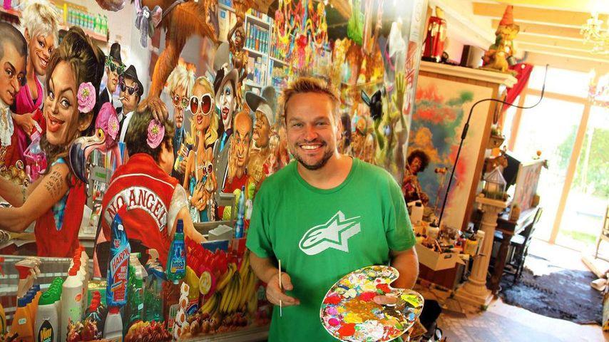 Kaulitz, Ditto und Co.: Er malt die Karikaturen der Promis