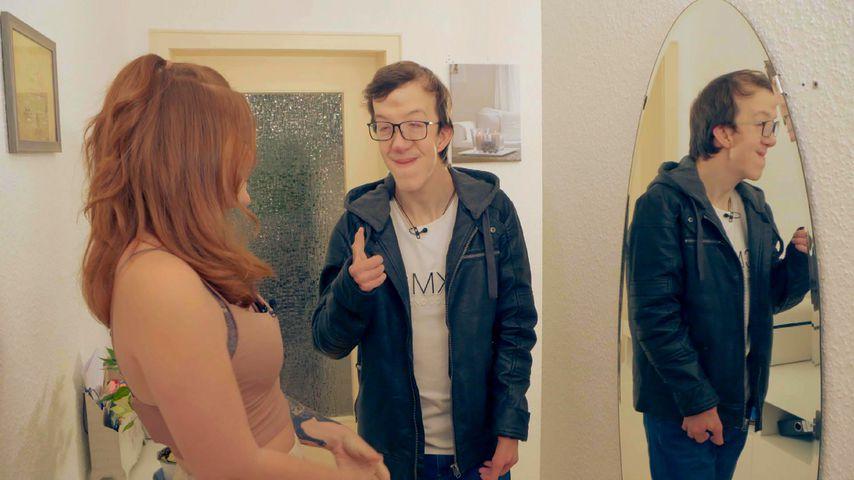 """""""Besonders verliebt""""-Kandidat Tobias mit seiner Schwester Vanessa"""
