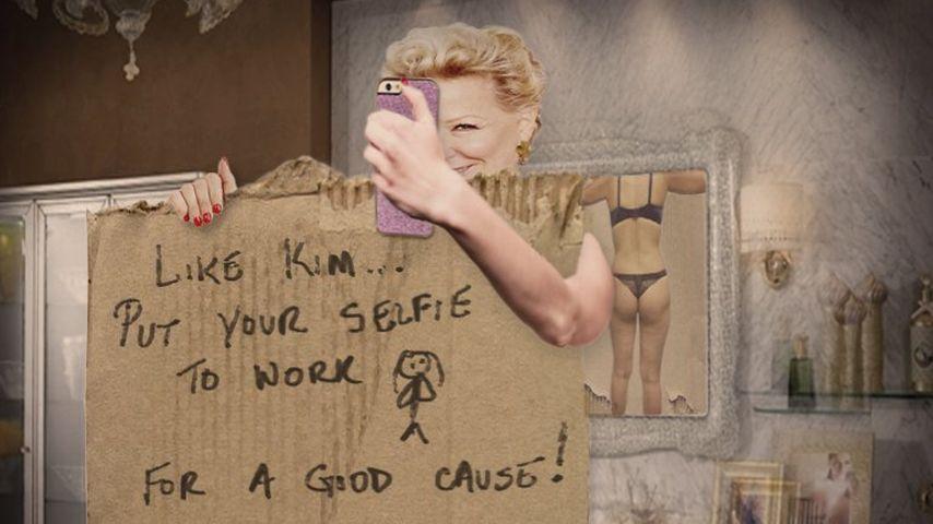 Nackt-Selfies: Bette Midler fordert Kim Kardashian heraus