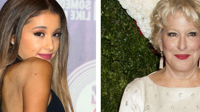 Zu sexy? Ariana Grande wehrt sich gegen Midler