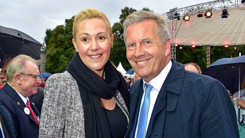 Bettina und Christian Wulff beim Bürgerfest des Bundespräsidenten